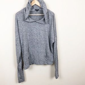 Brandy Melville • Grey Pullover Hoodie • One Size